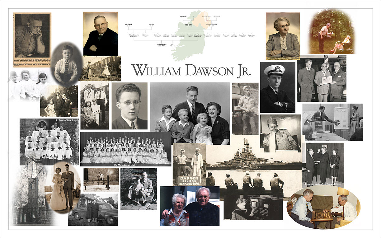 William Dawson Memorial Poster